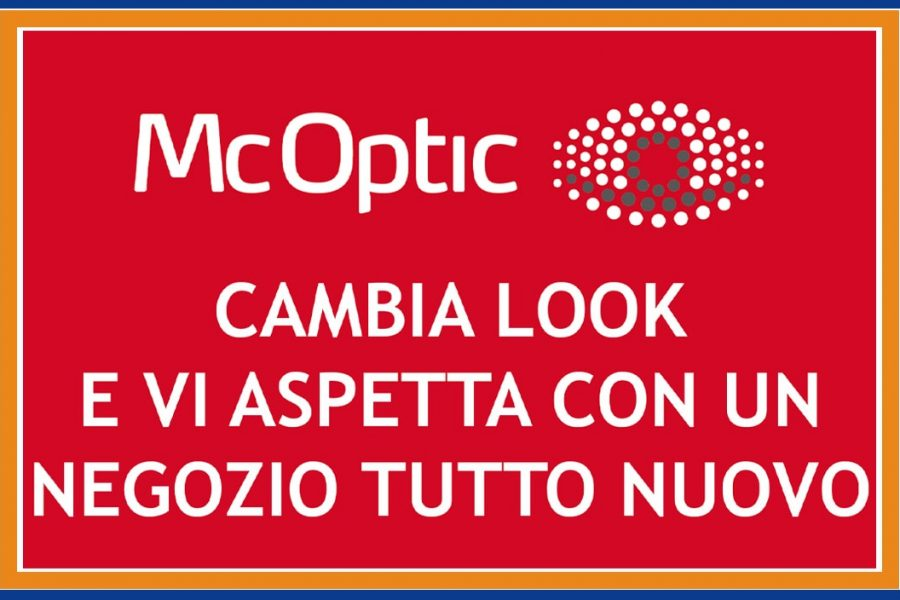 McOptic cambia look
