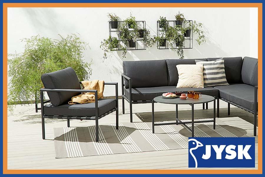Esposizione di mobili da giardino JYSK