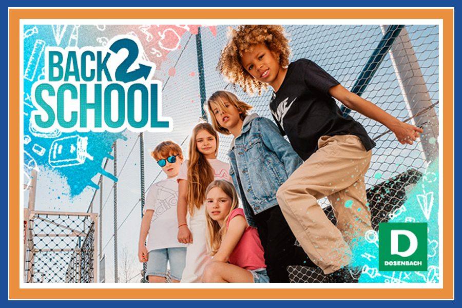 Back to School a Dosenbach, tutto per l'inizio perfetto del nuovo anno scolastico!